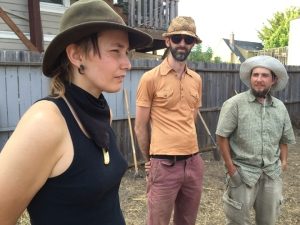 Land Action at Buried Seeds Garden